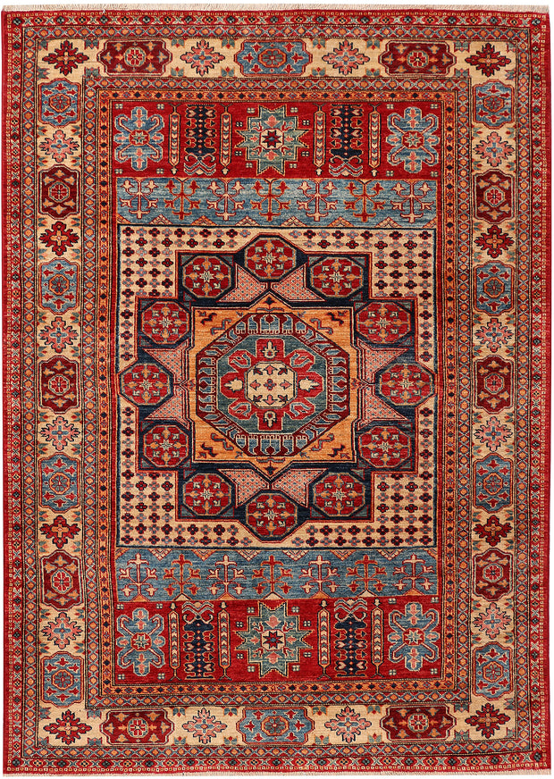 Multi Colored Kazak 4' 11 x 6' 11 - No. 47902 - ALRUG Rug Store