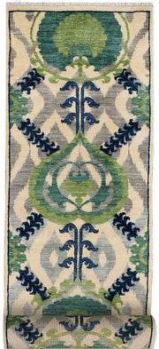 Multi Colored Ikat 2' 8 x 12' 2 - No. 48080 - ALRUG Rug Store