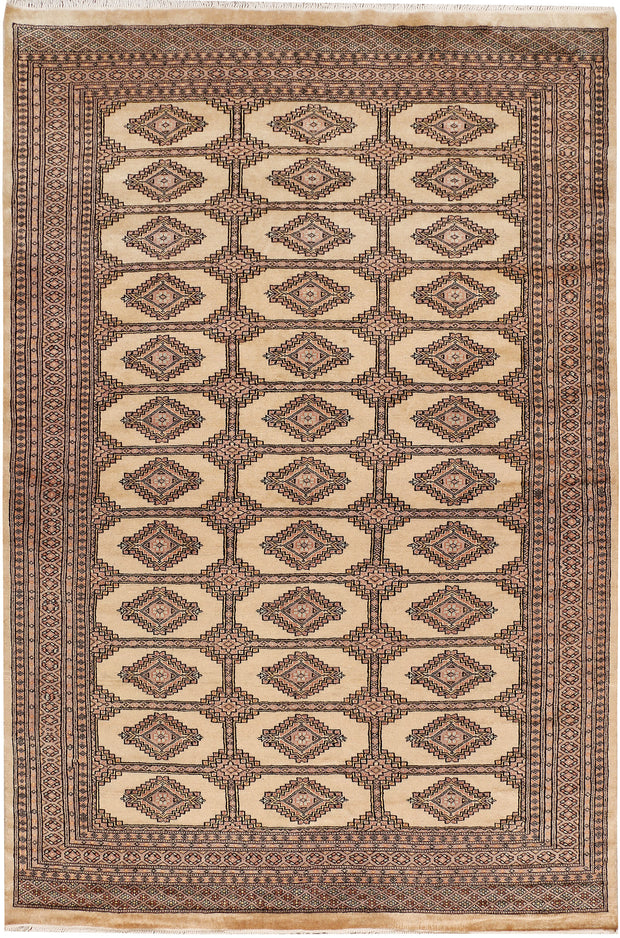 Wheat Jaldar 6' x 9' - No. 48242 - ALRUG Rug Store