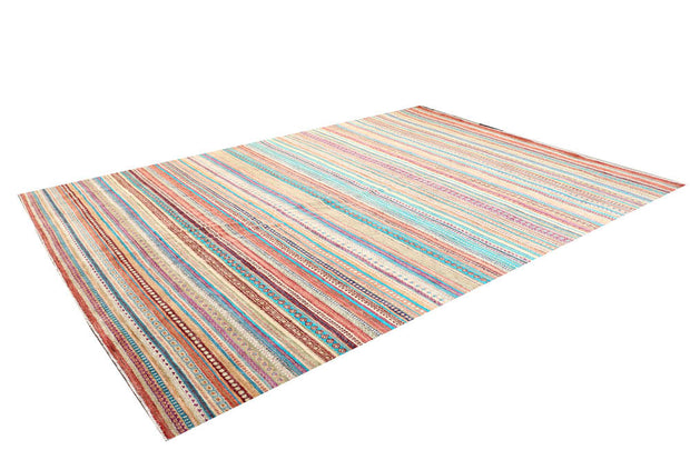 Multi Colored Gabbeh 10' x 13' 11 - No. 48294 - ALRUG Rug Store