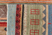 Multi Colored Gabbeh 6' 3 x 9' 5 - No. 48304 - ALRUG Rug Store