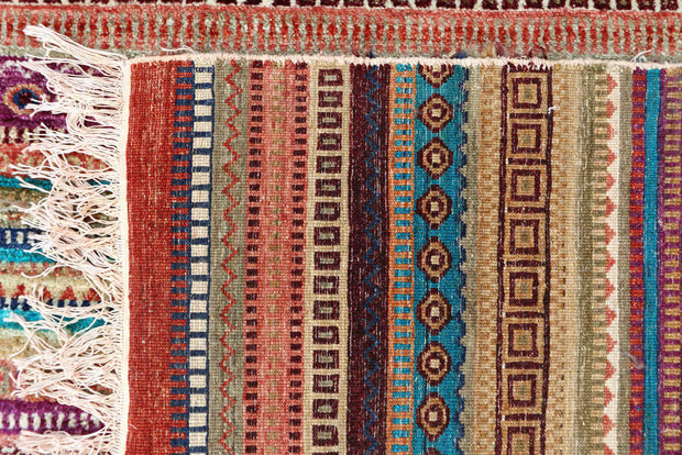 Multi Colored Gabbeh 8' 1 x 11' 7 - No. 48306 - ALRUG Rug Store