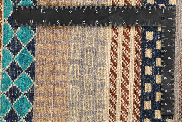 Multi Colored Gabbeh 8' 2 x 9' 10 - No. 48384 - ALRUG Rug Store