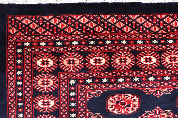 Midnight Blue Bokhara 8' 1 x 9' 9 - No. 48459 - ALRUG Rug Store