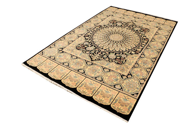 Black Kirman 5' 2 x 8' 2 - No. 48494 - ALRUG Rug Store