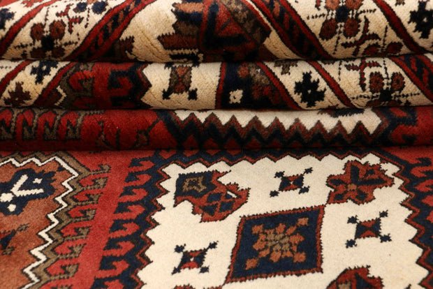 Brown Kargai 7' 1 x 9' 7 - No. 48584 - Alrug Rug Store