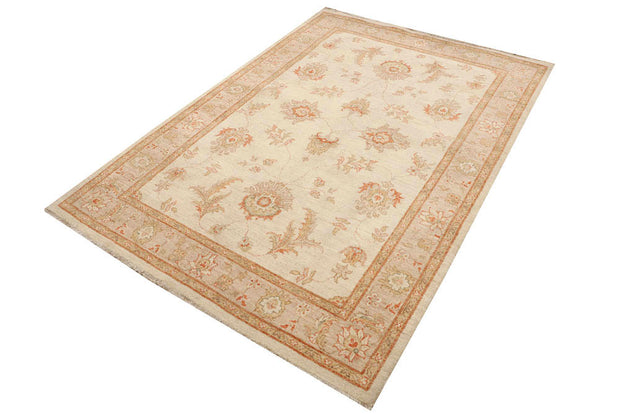 Wheat Oushak 4' 7 x 6' 8 - No. 48675 - ALRUG Rug Store