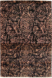 Multi Colored Gabbeh 5' 10 x 9' - No. 52262 - ALRUG Rug Store