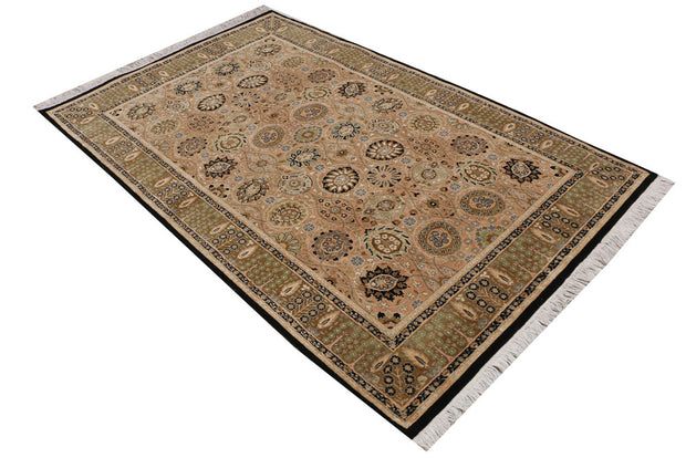 Bisque Sultanabad 4' 7 x 7' 4 - No. 52350 - ALRUG Rug Store
