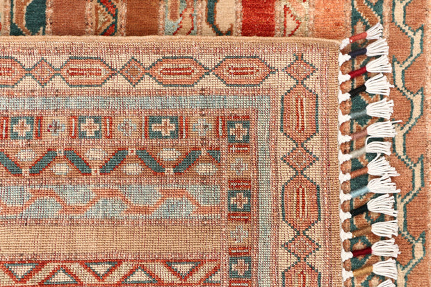 Multi Colored Shawl 3' 4 x 4' 11 - No. 53140 - ALRUG Rug Store