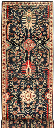 Multi Colored Oushak 2' 7 x 9' 4 - No. 53399 - ALRUG Rug Store