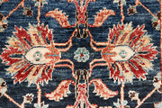 Midnight Blue Ziegler 2' x 5' 2 - No. 53556 - ALRUG Rug Store