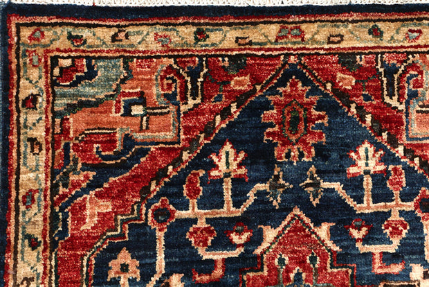 Midnight Blue Oushak 2' 2 x 4' 10 - No. 53557 - ALRUG Rug Store