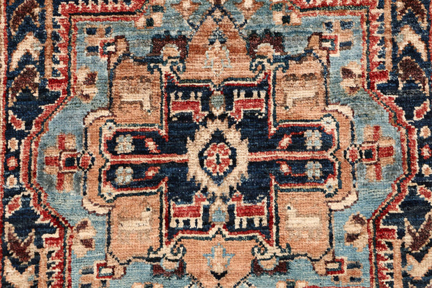 Multi Colored Oushak 2' x 5' - No. 53564 - ALRUG Rug Store