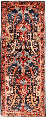 Midnight Blue Ziegler 2' x 5' 3 - No. 53582 - ALRUG Rug Store