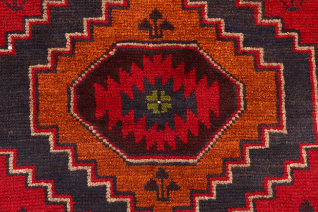 Dark Red Baluchi 2' 7 x 10' - No. 53917 - ALRUG Rug Store