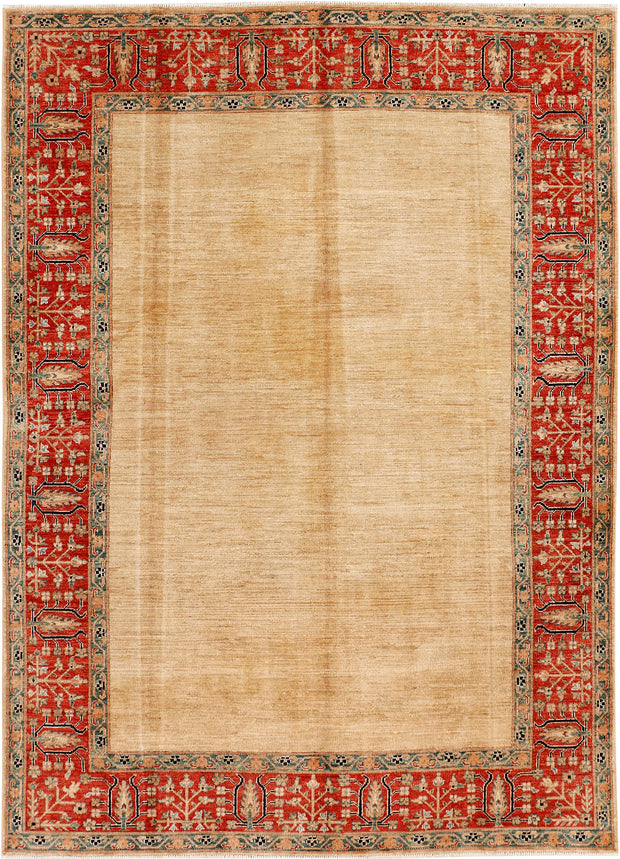 Wheat Oushak 5' 9 x 8' 2 - No. 53976 - ALRUG Rug Store