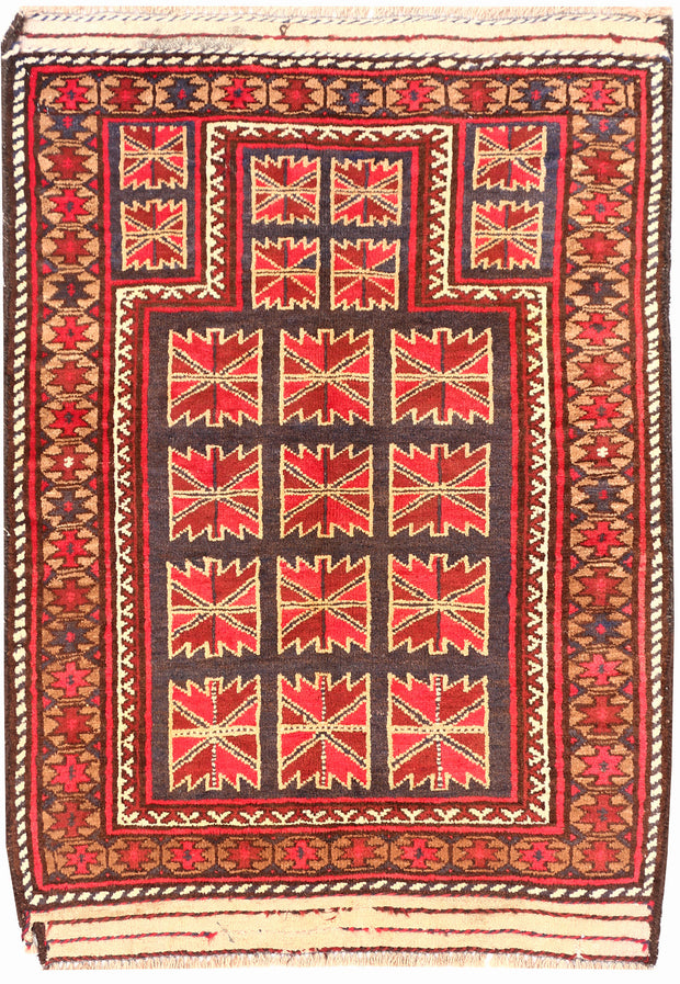 Multi Colored Prayer 2' 9 x 3' 5 - No. 54499 - ALRUG Rug Store