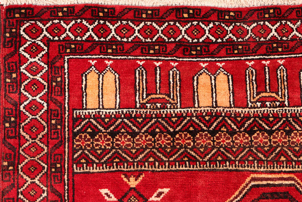 Red Prayer 3' x 3' 11 - No. 54517 - ALRUG Rug Store