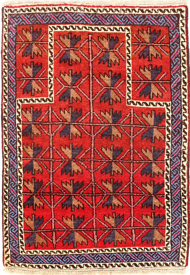 Tomato Prayer 2' 7 x 3' 7 - No. 54581 - ALRUG Rug Store