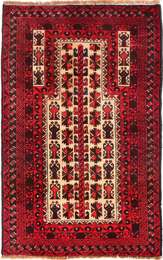 Bisque Prayer 2' 10 x 4' 5 - No. 54599 - ALRUG Rug Store