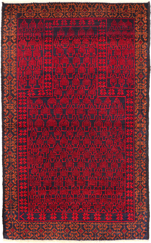 Midnight Blue Prayer 2' 9 x 4' 5 - No. 54607 - ALRUG Rug Store