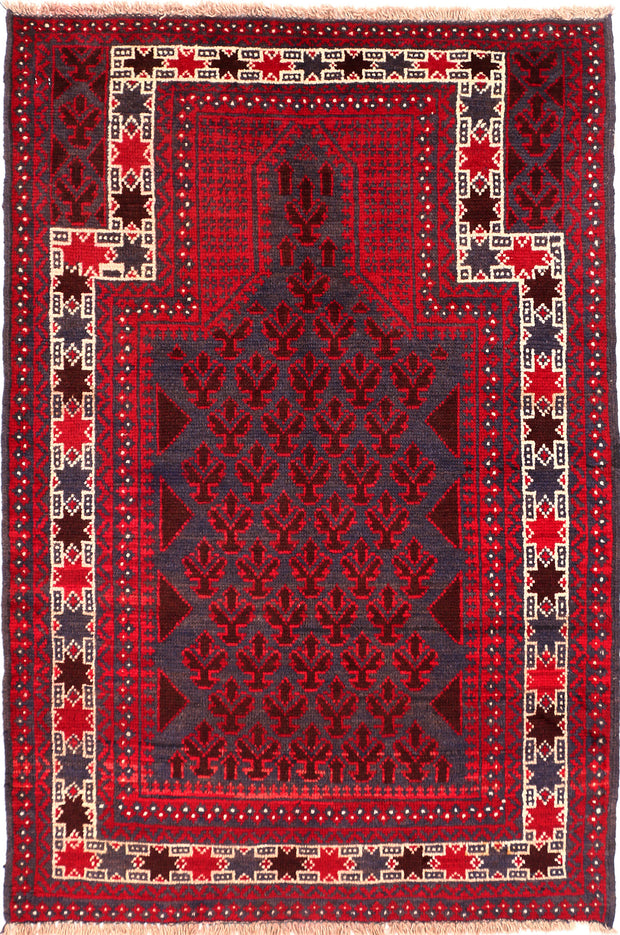 Multi Colored Prayer 3' x 4' 4 - No. 54653 - ALRUG Rug Store