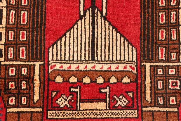 Firebrick Prayer 3' x 4' 2 - No. 54695 - ALRUG Rug Store