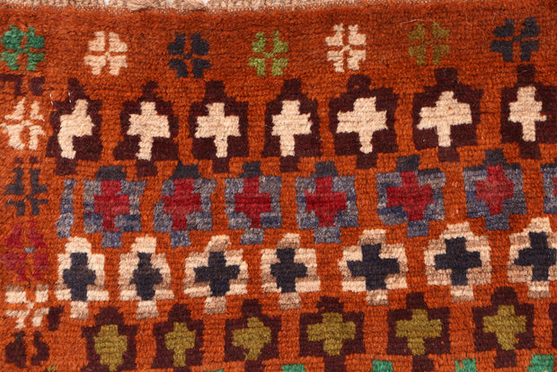 Multi Colored Baluchi 2' 11 x 4' 2 - No. 54857 - ALRUG Rug Store