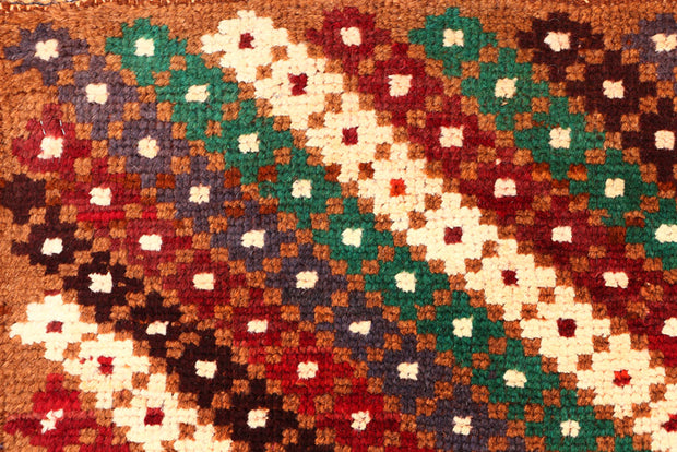 Multi Colored Baluchi 3' x 3' 9 - No. 54860 - ALRUG Rug Store