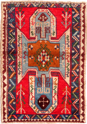 Multi Colored Baluchi 2' 8 x 3' 9 - No. 54861 - ALRUG Rug Store