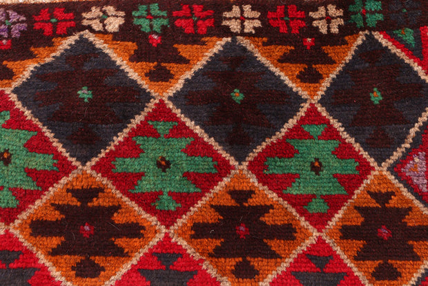 Multi Colored Baluchi 2' 7 x 3' 11 - No. 54904 - ALRUG Rug Store