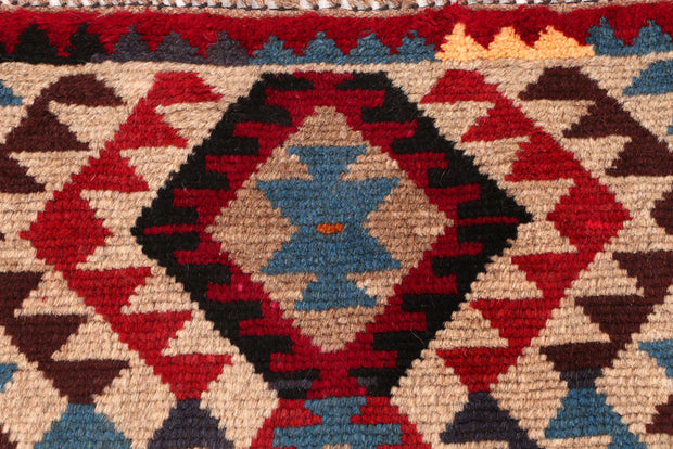 Multi Colored Baluchi 2' 7 x 3' 9 - No. 54935 - ALRUG Rug Store