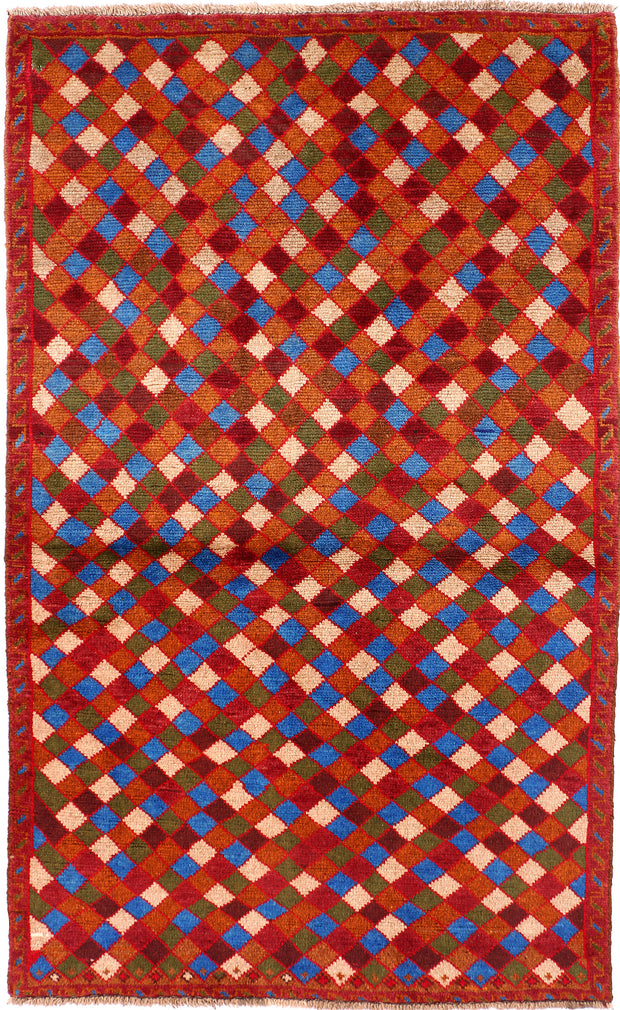 Multi Colored Baluchi 3' 10 x 6' 3 - No. 54984 - ALRUG Rug Store