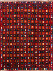 Multi Colored Baluchi 6' x 7' 10 - No. 55171 - ALRUG Rug Store