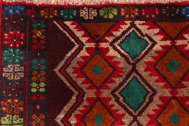 Multi Colored Baluchi 6' 3 x 7' 10 - No. 55179 - ALRUG Rug Store