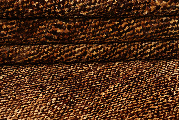 Saddle Brown Gabbeh 5' 5 x 7' 9 - No. 55628 - ALRUG Rug Store