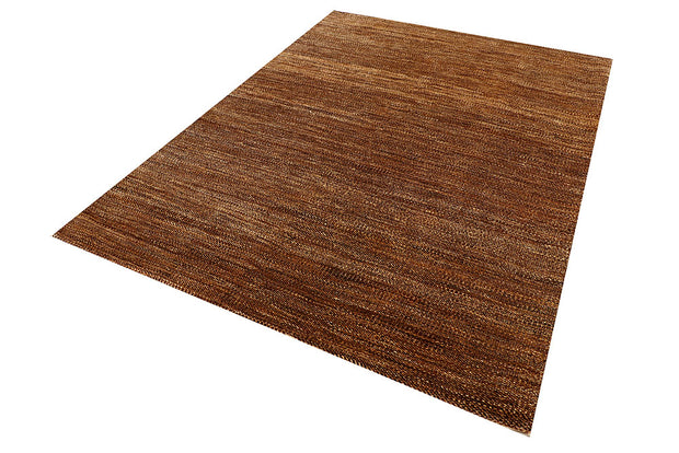Saddle Brown Gabbeh 5' 8 x 7' 9 - No. 55642 - ALRUG Rug Store