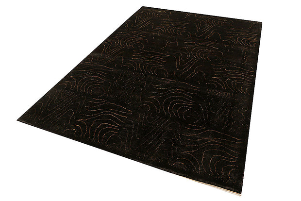 Saddle Brown Gabbeh 5' 8 x 8' - No. 55660 - ALRUG Rug Store