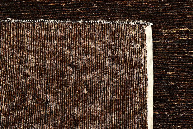Saddle Brown Gabbeh 4' 5 x 6' 7 - No. 55722 - ALRUG Rug Store