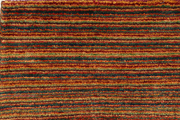 Multi Colored Gabbeh 4' 5 x 6' 7 - No. 55729 - ALRUG Rug Store