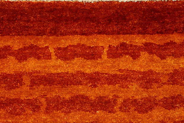 Dark Orange Gabbeh 4' 7 x 6' 9 - No. 55737 - ALRUG Rug Store