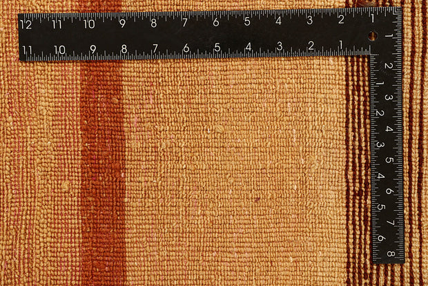 Sandy Brown Gabbeh 4' 1 x 6' - No. 55789 - ALRUG Rug Store