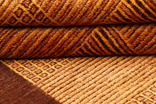 Sandy Brown Gabbeh 4' 3 x 6' - No. 55796 - ALRUG Rug Store