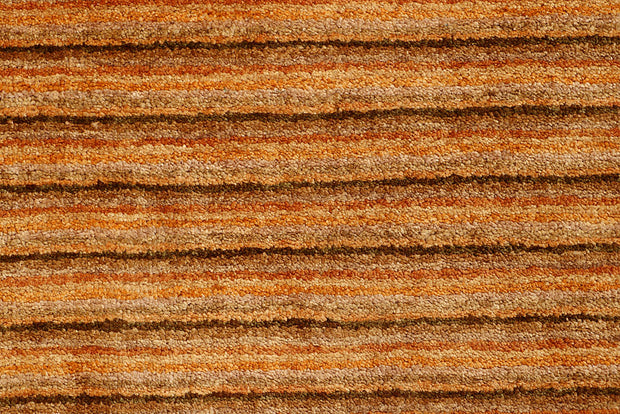 Sandy Brown Gabbeh 4' 1 x 6' 2 - No. 55797 - ALRUG Rug Store