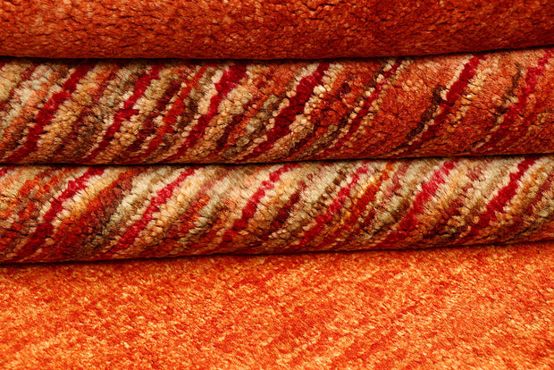 Orange Red Gabbeh 3' 11 x 6' 4 - No. 55804 - ALRUG Rug Store