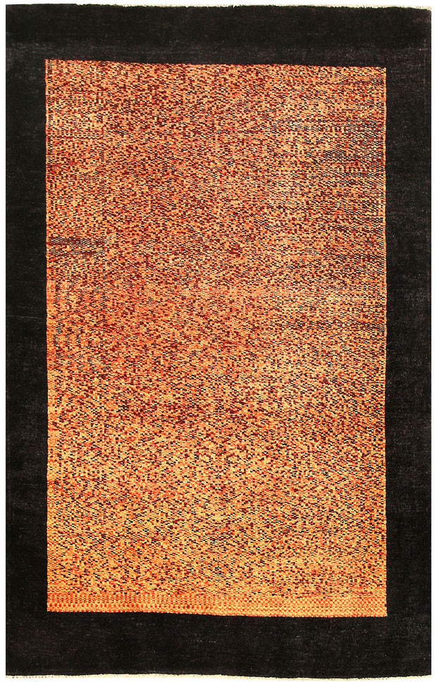 Sandy Brown Gabbeh 4' 1 x 6' 4 - No. 55823 - ALRUG Rug Store