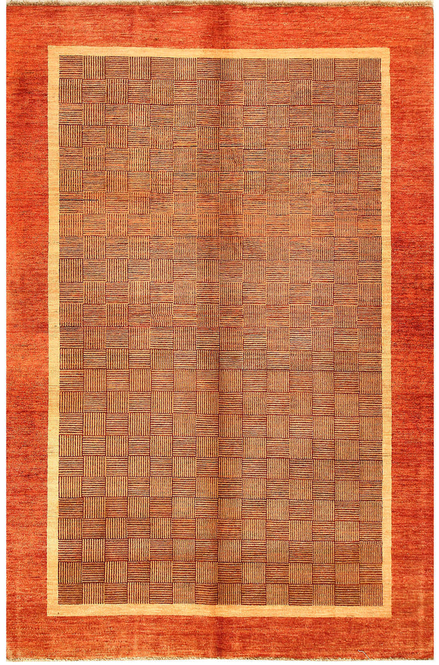 Multi Colored Gabbeh 6' 2 x 9' 1 - No. 55852 - ALRUG Rug Store