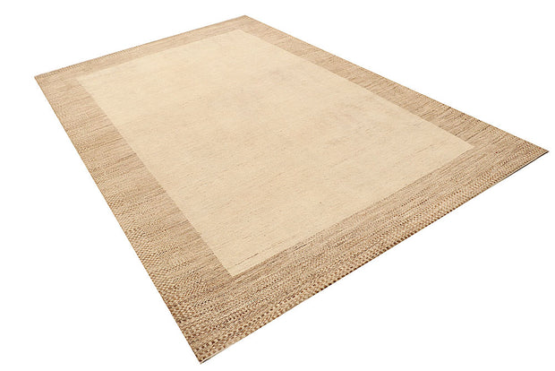 Wheat Gabbeh 6' 6 x 9' 7 - No. 55859 - ALRUG Rug Store
