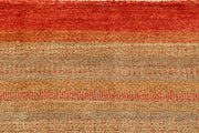 Multi Colored Gabbeh 5' 6 x 8' - No. 55913 - ALRUG Rug Store